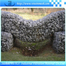 Reverse  Twisted Gabion Wire Mesh Keep off Dust Wall