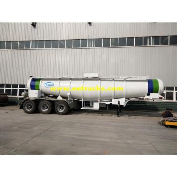 19000L 98% Sulfuric Acid Transport Semi-Trailers