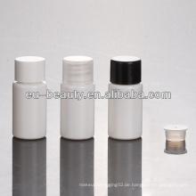 10ml weiße PET-Plastikflasche mit PP-Schraubverschluss