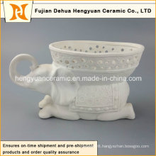 Factory Direct Sale, Ceramic Elephant Shape Flowers Vase (Home Decoration)