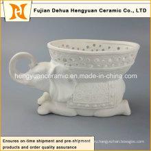 Прямая связь с розничной торговлей фабрики, ваза цветков валика керамическая (домашнее украшение)