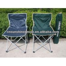 Silla de campo portátil con 210D bolsa de transporte, fácil silla plegable