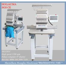 1 cabeça 15 agulhas máquina de bordar computadorizada Multi função / casa usada máquina do bordado