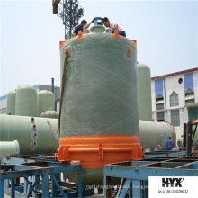 FRP Vertical Tank with Flat or Conical Bottom