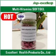 Natural Multi-Vitamin Softgel Soft Capsule