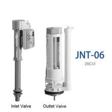 PP ABS Material Válvula de descarga de inodoro de una pieza