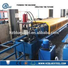 Стальная рулонная машина для склеивания рулонных ворот, высококачественная машина для производства металлических желобов