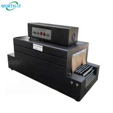 Plastic film can candle magazine sauce mineral water shrink wrapping machine Heat Shrink Tunnel Packing Machine