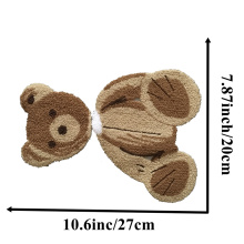 Teddy Bear Chenille Embroidery sew on Patches
