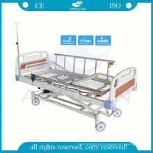 AG-BM106 ABS headboard adjustable 3 function electric intensive care hospital beds