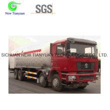 LNG Medium 22.91m3 Volume Cryogenic Tank Cotainer Semi Trailer