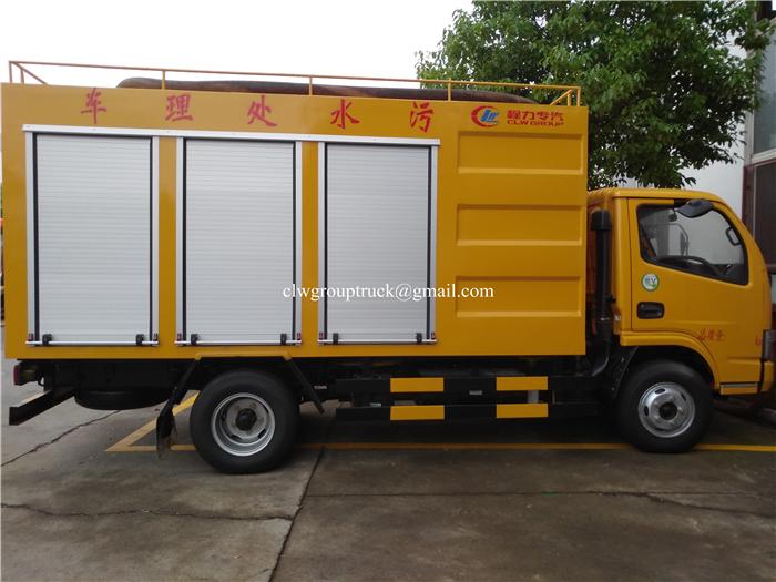 Sewage Disposal Car 3