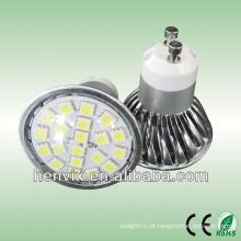 4.6w smd gu10 spotlight