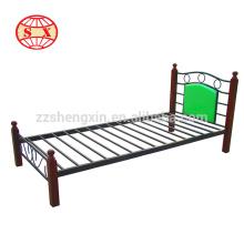 Lits superposés standards en métal simple pour chambre à coucher