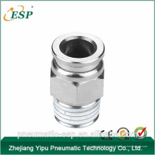 Chine pneumatique en laiton mâle raccord droit (MPC)