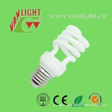 Media espiral T2 15W CFL bombillas lámparas ahorros de energía