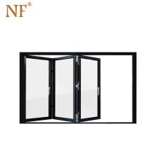 Australian Standard folding windows with Internal Blinds