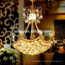 Lustres modernes de lustre en cristal de boule de nouveau design de luxe