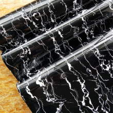 Black Marble Adhesive Film