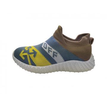 Chaussures tricotées à la mode pour enfants respirant