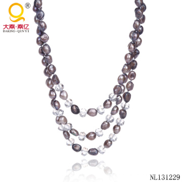 2014 Bijoux Fashion Pearl Necklace Designs