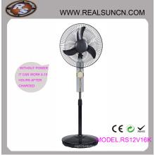 AC DC recarregável ventilador 16 polegadas com lâmpada LED (RS12V16K)