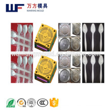 quality chinese products cutlery spoon mould/2017 Disposable plastic injection cutlery spoon mold