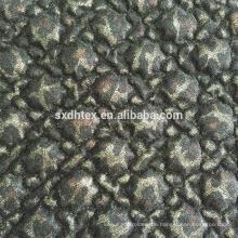 Spitzen Folie Quilten Stoff, Folie gesteppte thermische Stickerei Stoff für Kleidung