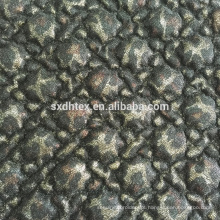 laço da folha estofando tecido, folha de tecido acolchoado bordado térmica para o vestuário