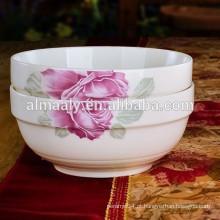 tigela de força de porcelana de alta qualidade