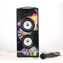 BBQ 20W Marquee Licht Karaoke Hand frei Auto Lautsprecher Woofer
