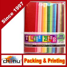 Papel de tecido de cor do arco-íris (510047)