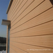 Wood Facade WPC Exterior Wall Cladding Wood Plastic Composite Wall Board Outdoor Wooden Cladding WPC Wall Panel