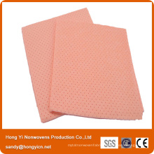 Lint Free Needle Punched Nonwoven Fabric Glass Cleaning Cloth