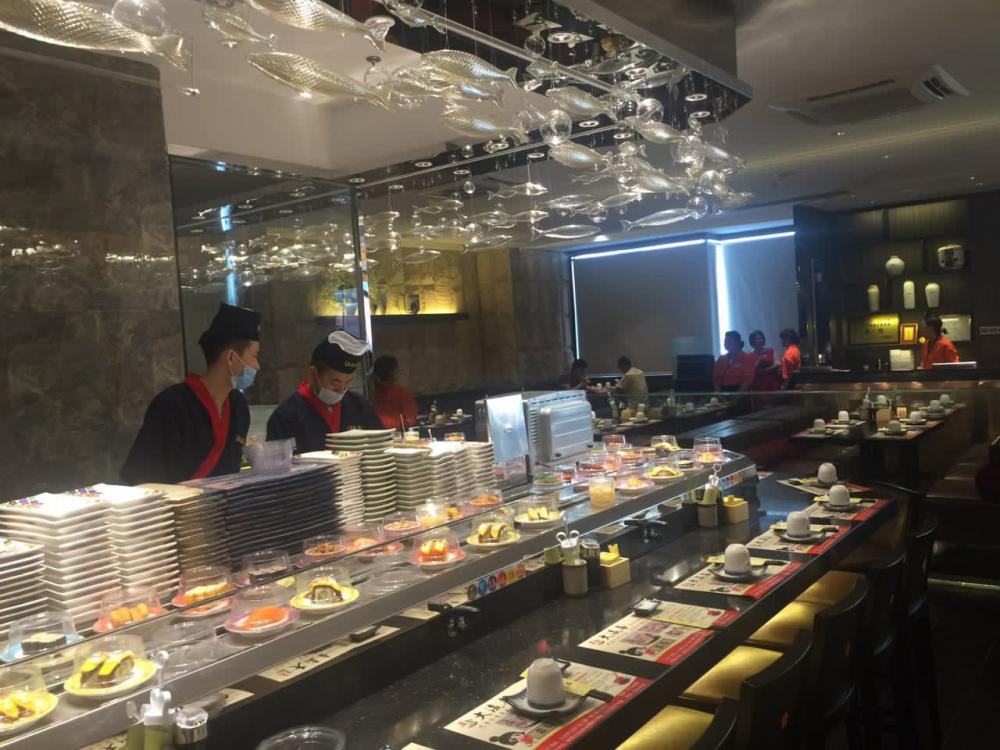 Rotating Sushi Conveyor Belt