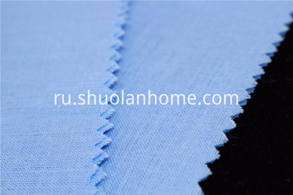 Poycotton Blue Fabric
