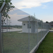 358 Security Fence Prison treillis enduit de PVC