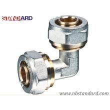 Pex-Al-Pex Fitting/Elbow Compression Fitting/Brass Fitting for Pex-Al-Pex Pipe