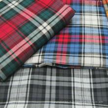 Tissu imprimé en popeline de coton 100% popeline de coton imprimé en gros pour drap de lit / chemise / vêtement