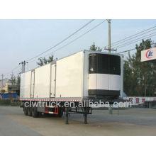 2015 fábrica oferta clw Grande capacidade frigorífico semi reboque caixa