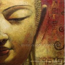Hochqualitäts-Buddha-Ölgemälde-Buddha-Gesichts-Anstrich (BU-024)