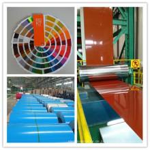 Farbige galvanisierte Stahlspule und Blatt von Shandong