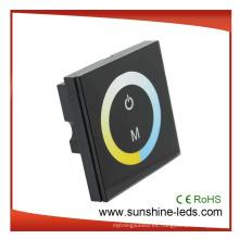 4A Panel de control de temperatura de color LED Controlador de iluminación, atenuador