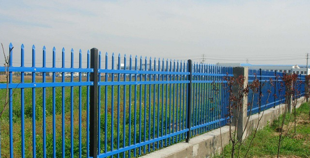 High Security Zinc Steel Fence