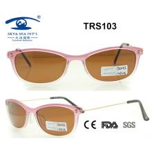 Promocional de alta calidad hermosa Tr Sunglass (TRS103)