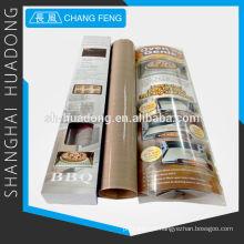 -Aderente PTFE cozinhando liner, usado como forno, torradeira, churrasco