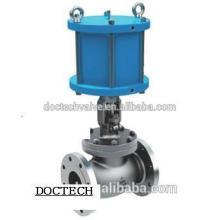 Edelstahl Flansch pneumatische Ventil GB Globus Absperrventil JB, GB/T, API, BS, DIN