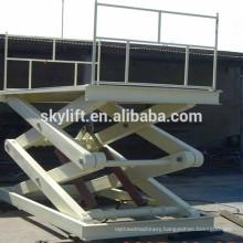 High quality !! electric hydraulic mid rise car scissor lift
