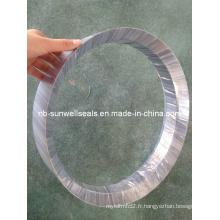 Anneau de graphite formé de pure forme