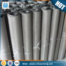 Elemento de calefacción eléctrica Cr20Ni80 nichrome filtro de alambre tela de malla
